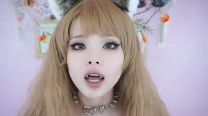 Cat Hair Style cat girl halloween makeup tutorial monster girl series 2255 by wearticles.com
