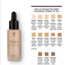 Younique Touch Foundation Color Chart Younique Liquid Touch Foundation Scarlet