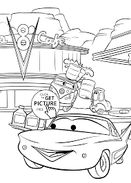 cars coloring pages for kids printable free