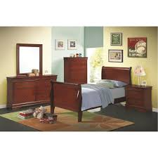 Louis Bedroom Furniture Coaster Furniture 200431t Louis Philippe Twin Sleigh Panel Bed In