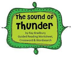 sound of thunder essay a sound of thunder essay