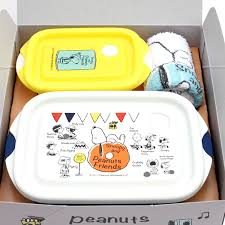 gift set 1 000 yen character snoopy lunch lunch child kids kindergarten primary child holiday making outing excursion athletic meet gift present