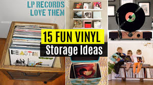 15 Fun Vinyl Record Storage Ideas - YouTube - HD Wallpapers