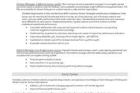 Oil Industry Resume - Reentrycorps