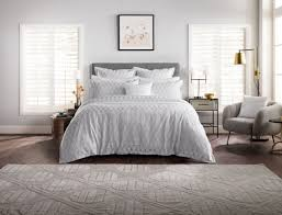 sheridan brookley silver tailored duvet cover set superking to enlarge