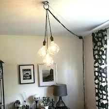 swag lamp plug in hanging lamp plug in gorgeous plug in pendant lights best ideas about
