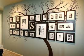 family frame wall decor family frames wall decor 8 tree picture frame hanging design ideas home family frame wall decor