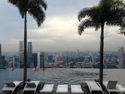 infinity pool singapore hotel. Rooftop Infinity Pool - Marina Bay Sands Hotel Singapore