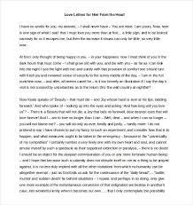 Love Letters For Him 40 Free Word PDF Documents Download Free Stunning Love Letters For Him From The Heart