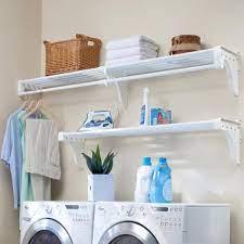 ez shelf expandable laundry room