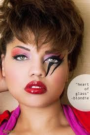 rocker makeup 80 80s bold eye makeup plus model mag 80 s makeup plusmodelmag blending eyeshadoweyeshadow eyeshadoweyeshadow womens