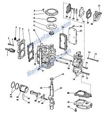 johnson powerhead group parts for 1965 3hp jw 20 outboard motor reference numbers in this diagram can be found in a light blue row below scroll down to order each product listed is an oem or aftermarket equivalent