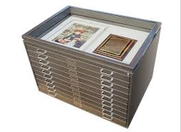 Off Gassing Cabinets Archival Flat File Storage Cabinets