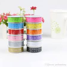 Best Masking Tape For Decorating DIY Candy Colors Hot Lace Tape Album Scrapbooking Decoration Roll 81