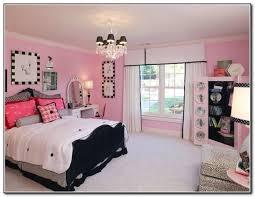 Models Bedroom Designs Teenage Girls Tumblr Big Classy Pink And Black Inside Design