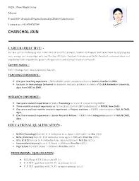 Objectives Of Resume For Freshers Best of It Objectives For Resume Objective Resum On How To Write A Career
