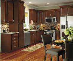 Kitchen cabinets wood Solid Wood Dark Wood Kitchen Cabinets By Aristokraft Cabinetry Lowes Dark Wood Kitchen Cabinets Aristokraft Cabinetry