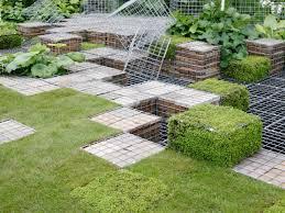 backyard landscaping design. Geometric Cubes Creative Landscaping Ideas Hgtv In Yard Design  Backyard Landscaping Design