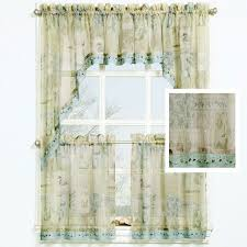 Beach Themed Kitchen Curtains