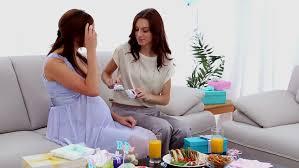Lisau0027s Allwhite Frenchinspired Baby Shower  Em For Marvelous Baby Shower Friends