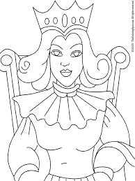 The snow queen coloring pages. Queen Coloring Page Audio Stories For Kids Free Coloring Pages Colouring Printables