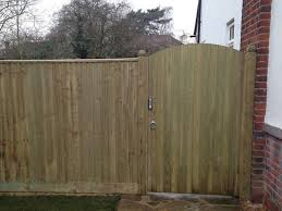 here we were asked to fit an extra wide 4ft bespoke gate which was commissioned from our preferred fencing supplier the simple addition of using posts with