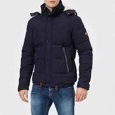 Superdry Mens Jacket Size Chart Superdry Mens New Academy Jacket Midnight Navy