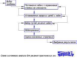 Системный анализ и управление в экологии схема Практические  Системный анализ и управление в экологии схема