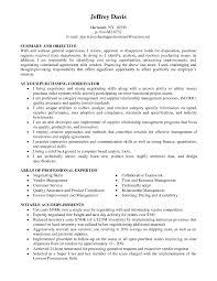 Buyer Resume Sample Purchasing Buyer Resume Free Resume Templates 16