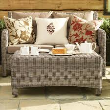 wicker ottoman coffee table awesome 15 round rattan gallery tables ideas within 11