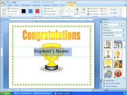Making A Certificate Word 2007 Tutorial 16 Making A More Advanced Certificate Youtube