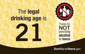 Drinking we don serve teen