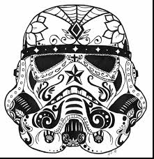 Small Picture surprising star wars stormtrooper sugar skull coloring pages with