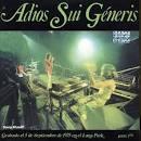 Adios Sui Generis, Vol. 1