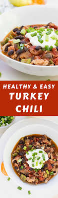 Simple Turkey Chili Ready In 30 Min Diabetes Strong