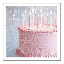 Make A Wish Happy Birthday Greeting Card Putti Fine Furnishings