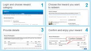 two options to redeem rewards