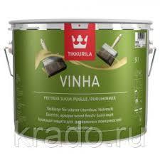 VINHA <b>TIKKURILA</b> (<b>ВИНХА</b> ТИККУРИЛА) — кроющая краска ...