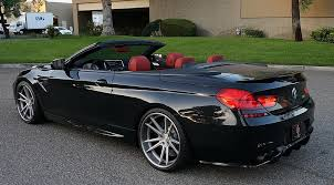 black bmw convertible. trickedout bmw m6 by supreme power motorward black bmw convertible
