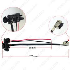 feeldo car accessories 1pcs power cord wire harness for hella picture of 1pcs power cord wire harness for hella factory original d1s oem xenon hid ballast