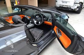 lamborghini gallardo interior manual. lamborghini gallardo spyder interior orange with black stitching seats door panels console dash grey manual