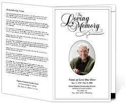 funeral pamphlet 214 best creative memorials with funeral program templates images