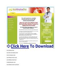 Acid Alkaline Balance Diet Chart Alkaline And Acid Food Chart Acid Alkaline Balance Diet