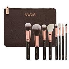 zoeva brushes makeup cosmetics brush tool rose golden luxury set bag plete eye set 8 pennelli