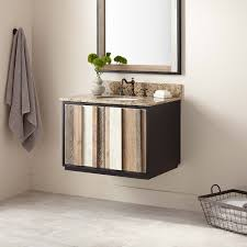 arner wallmount vanity for undermount sink  bathroom