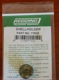 Shell Holder Chart Details About Redding E Z Feed 12 Shell Holder 11012 New In Package