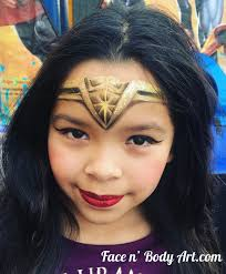 spider woman face painting