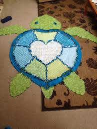 779 best Quilts images on Pinterest | Stitching, At sign and Baby ... & SEA TURTLE Shaperag quilt Original Design by SanderSpecialties Adamdwight.com