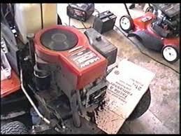 HOW TO ADJUST VALVES) FIX HARD TO START Lawn Tractor with OHV Briggs ...