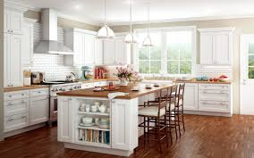 White Kitchen with Island traditional-kitchen